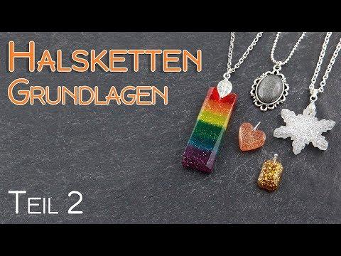 Halsketten für Anfänger Teil 2 | Schmuck Grundlagen Anleitung | Anhänger befestigen | DIY Aufhängung