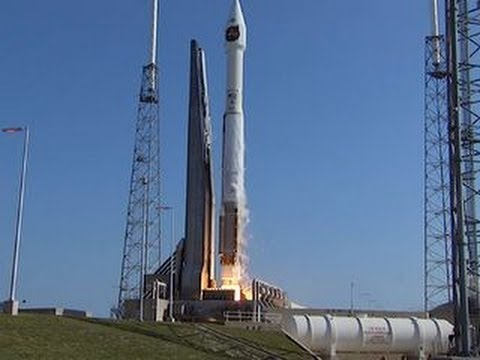 United Launch Alliance Atlas 5 rocket blasts off with secret cargo