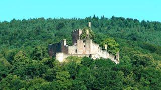 preview picture of video 'Burg Landeck bei Klingenmünster'