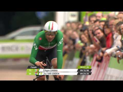 BinckBank Tour 2019: Relive the winning time trial of Filippo Ganna