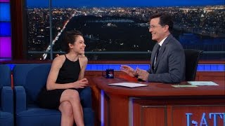 Tatiana au Late Show With Stephen Colbert - 31 mars 2016