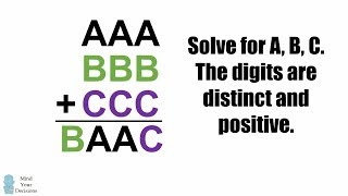 Puzzle From A Math Teacher - If AAA + BBB + CCC = BAAC, What Are A, B, C = ?