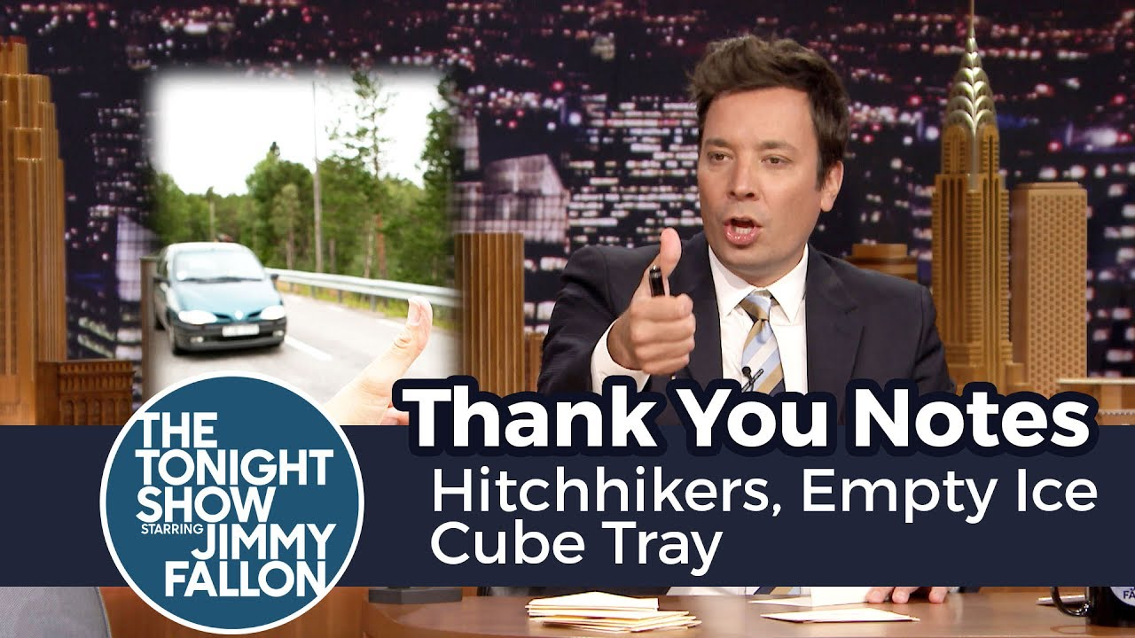 Thank You Notes: Hitchhikers, Empty Ice Cube Tray thumbnail