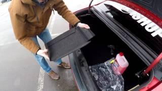 Ворсовые карманы в багажник Лада Веста от Почина