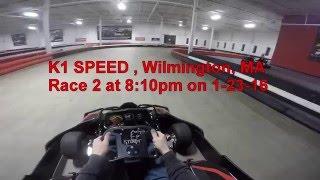 06:19 K1 Speed Indoor Electric Karting - Craig & Eric Battle 1-23-16
