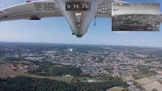 FPV Longrange Flug 20,1km Distanz und zurück // kompletter Flug uncut