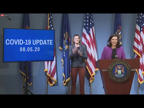 Governor Whitmer Addresses Racial Inequities and COVID-19 | Press Conference, August 5, 2020