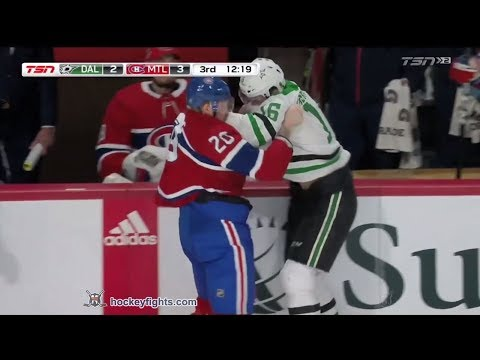 Nicolas Deslauriers vs. Jason Dickinson