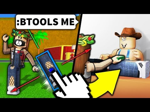 I used Roblox admin to STEAL noob's ARMS/LEGS... and SOLD IT BACK TO THEM