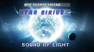 STAR SIRIUS🌟MIND BLOWING TELESCOP FOOTAGE ! 〰️Sound frequency?! 〰️ 720 hd