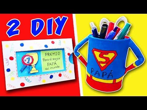 Regalos para el Día del Padre: manualidades fáciles para niños ...