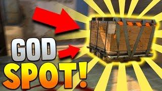 THE GOD SPOT!! | CS:GO Competitive