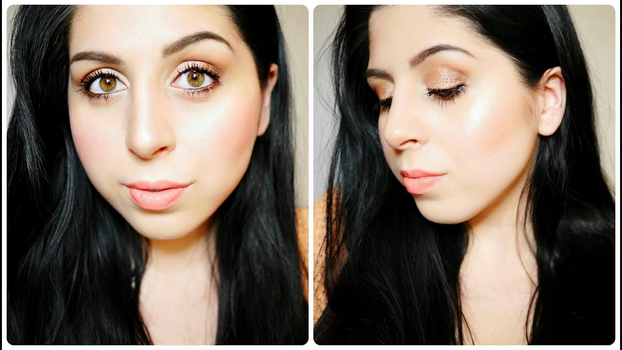 Easy Spring Tutorial – Warm Shimmer & Glowing Skin