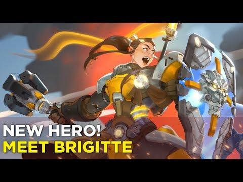 NEW OVERWATCH HERO! Jeff and Simone Meet Brigitte