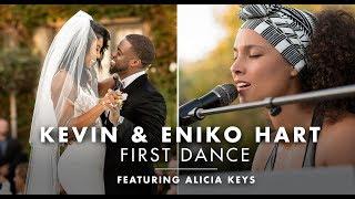 Kevin Hart & Eniko's Wedding First Dance Ft. Alicia Keys | Suzanne Delawar