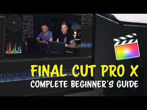 Learn Final Cut Pro X - FULL Complete Beginner's FCPX Tutorial ...