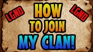 COD Ghosts: How to Join My Clan?! ''LEGEND ELITE''
