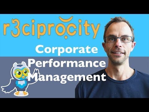 Corporate Performance Management: Developing Key Performance Indicators (KPIs) & Business Examples