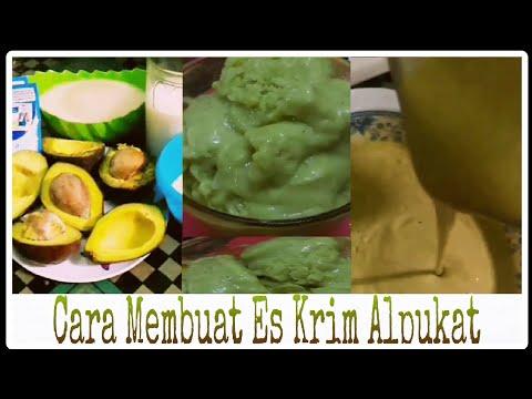 Video Cara sederhana untuk membuat es krim alpukat (Avocado Ice Cream)