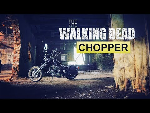 WALKING DEAD motorcycle. Daryl Dixon's Triumph Chopper