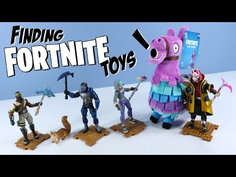 Fortnite Toys Action Figures Solo Mode Collection Hunt 2018 Jazwares