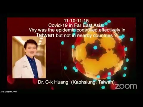 台灣防疫》國際減重外科網路會議演講防疫成功 5 關鍵 - 黃致錕醫師
