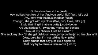 Lil Uzi Vert - Futsal Shuffle 2020 (Official Music Video Lyrics)