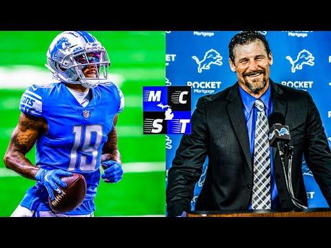Kenny Golladay Speaks on Detroit Lions Head Coach Dan Campbell & Matt Stafford Trade!!!