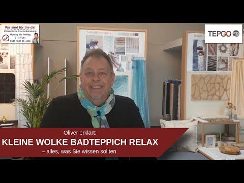 Kleine Wolke Relax Badteppich - Badezimmers Liebling