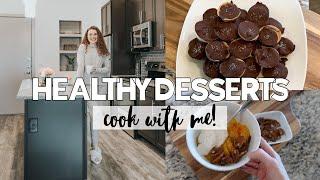 Guilt-Free Desserts: Homemade Peanut Butter Cups, Deconstructed Peach Cobbler, Healthy Milkshake