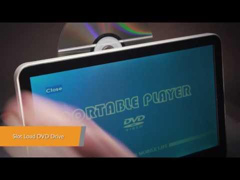 XTRONS HD13A Reproductor DVD pantalla 10