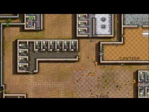 Prison Architect Timelapse Offers a Tiny Glimpse
