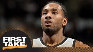 Will Cain says Kawhi Leonard-Spurs tension is 'obvious' | First Take | ESPN