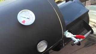 Modifications to Oklahoma Joe's Highland Smoker
