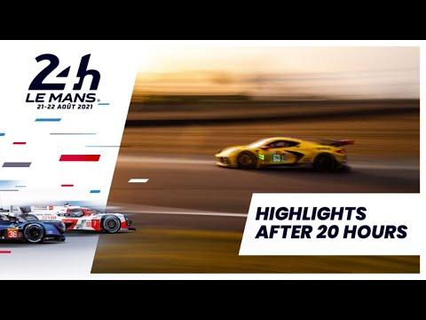 ル・マン24時間 決勝レースの20時間経過後のハイライト動画