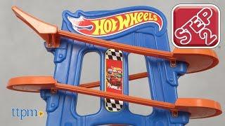 Žaidimų stalas Hot Wheels su lenktynių trasa | Road Rally Raceway | Step2 874300
