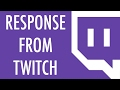 Response From Twitch