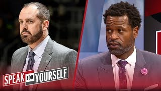 Lakers players 'won't have no respect' for Frank Vogel — Stephen Jackson | NBA | SPEAK FOR YOURSELF