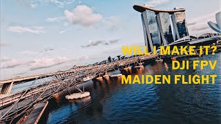 Singapore Marina Bay Sands on the DJI FPV DRONE 2021 [4K60FPS]