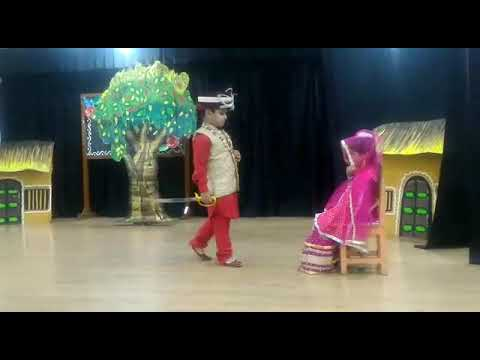 Ansh stage show in school