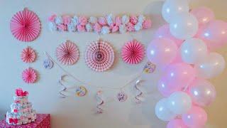 Baby Shower Decor  DIY BABY SHOWER DECOR IDEAS FOR A GIRL! Baby Shower 2020  Dollar Tree Baby Shower