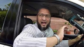 Asaduddin Owaisi Fight With Police Old Video