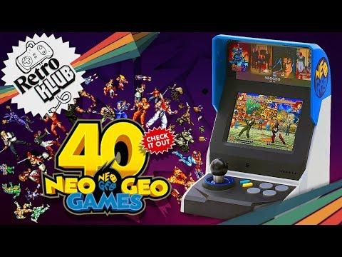 NeoGeo mini International-Spielautomat im Test   Retro Klub