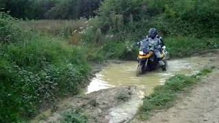 preview picture of video 'F800GS - Off-Road, Mud'