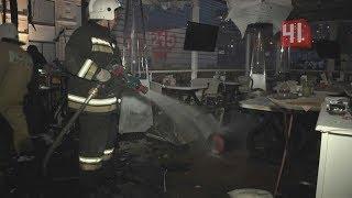 Пожар в ресторане из-за уличного обогревателя