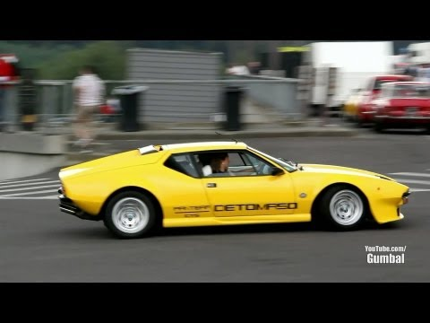 De Tomaso Pantera Exhaust Sounds!