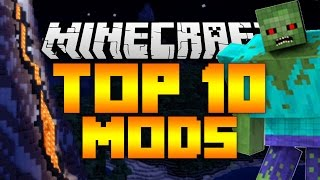Top 10 Minecraft Mods (Minecraft 1.12/1.11.2) - 2017 [HD]