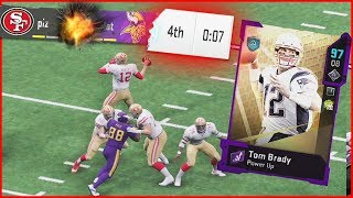 Tom Brady In EPIC Game That Comes Down To The Final Play! (Madden 20 Ultimate Team)