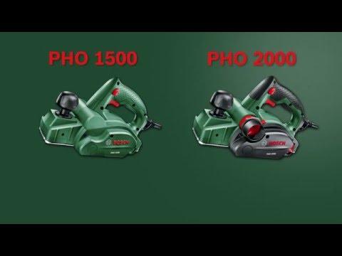 Tutorial: Elektrohobel PHO 1500 und PHO 2000 von Bosch