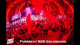 Purebeat b2b Goldsound -   Night Life Maximal @ Liget Club  2015 10 28